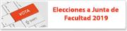 Elecciones a Junta de Facultad 2019